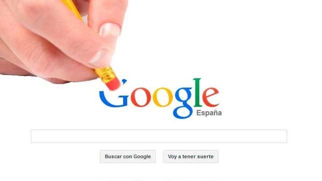 eliminar nuestra información indexada en Google